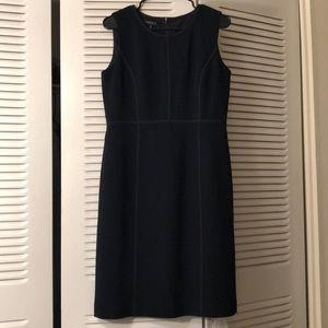 Beautiful Lafayette 148 dark blue dress 👗